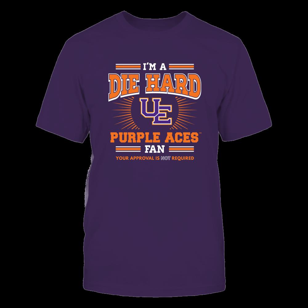 Evansville Purple Aces - I'm a Die Hard Fan Front picture