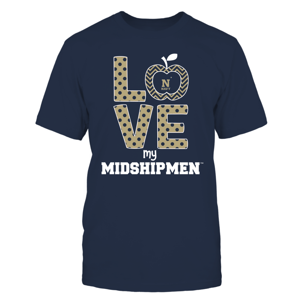 Navy Midshipmen - Love Front picture