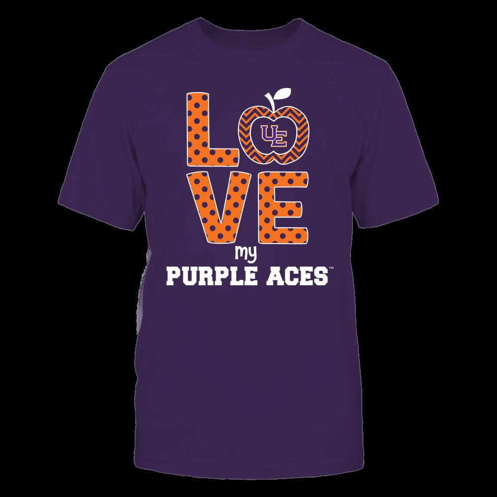 Evansville Purple Aces - Love Front picture