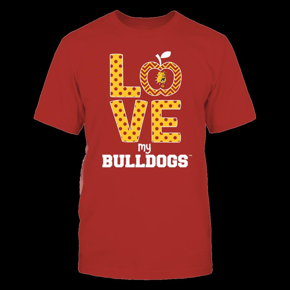 Ferris State Bulldogs - Love Front picture