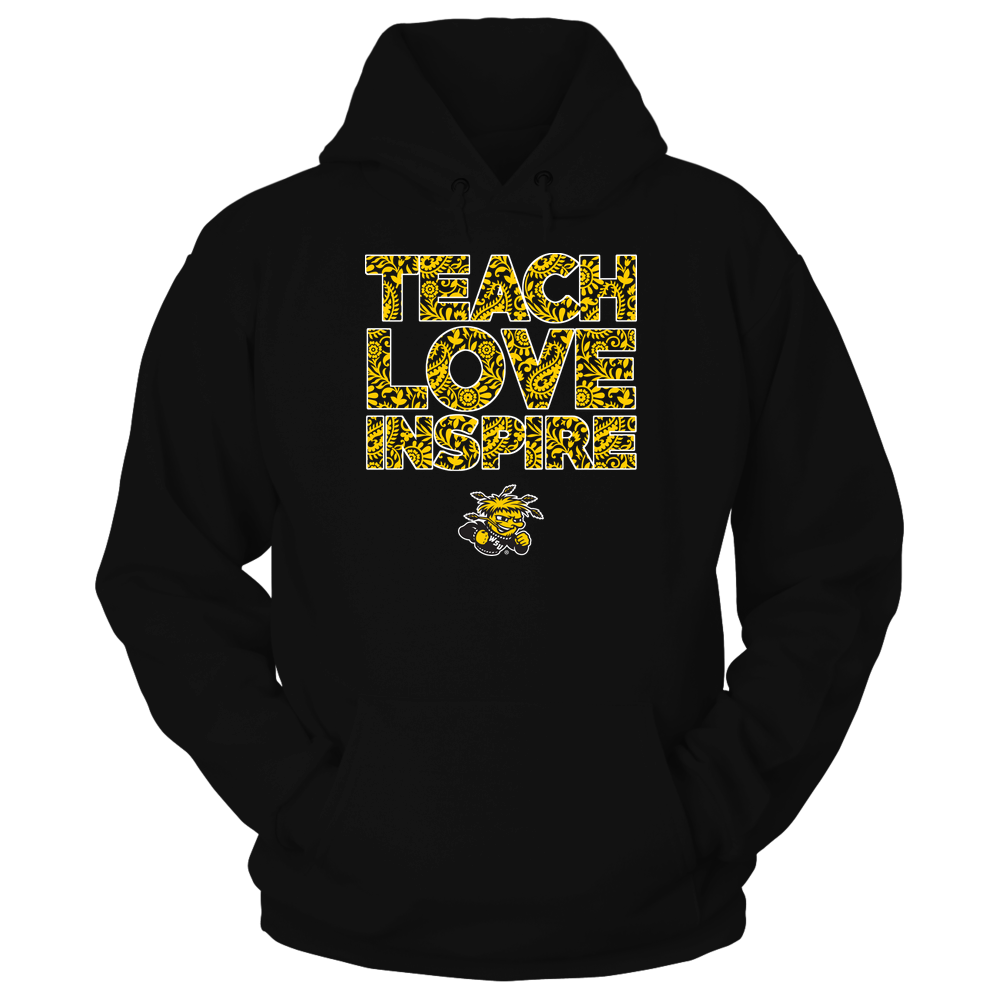 Wichita State Shockers - Teach Love Inspire Front picture