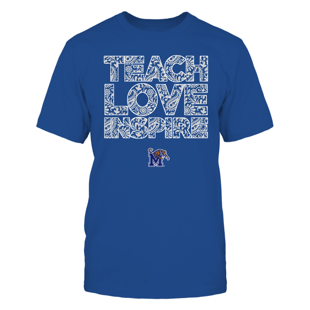 Memphis Tigers - Teach Love Inspire Front picture