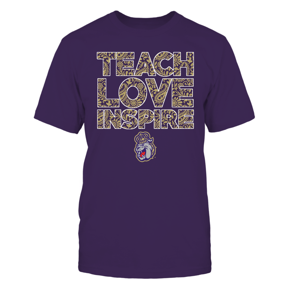 James Madison Dukes - Teach Love Inspire Front picture
