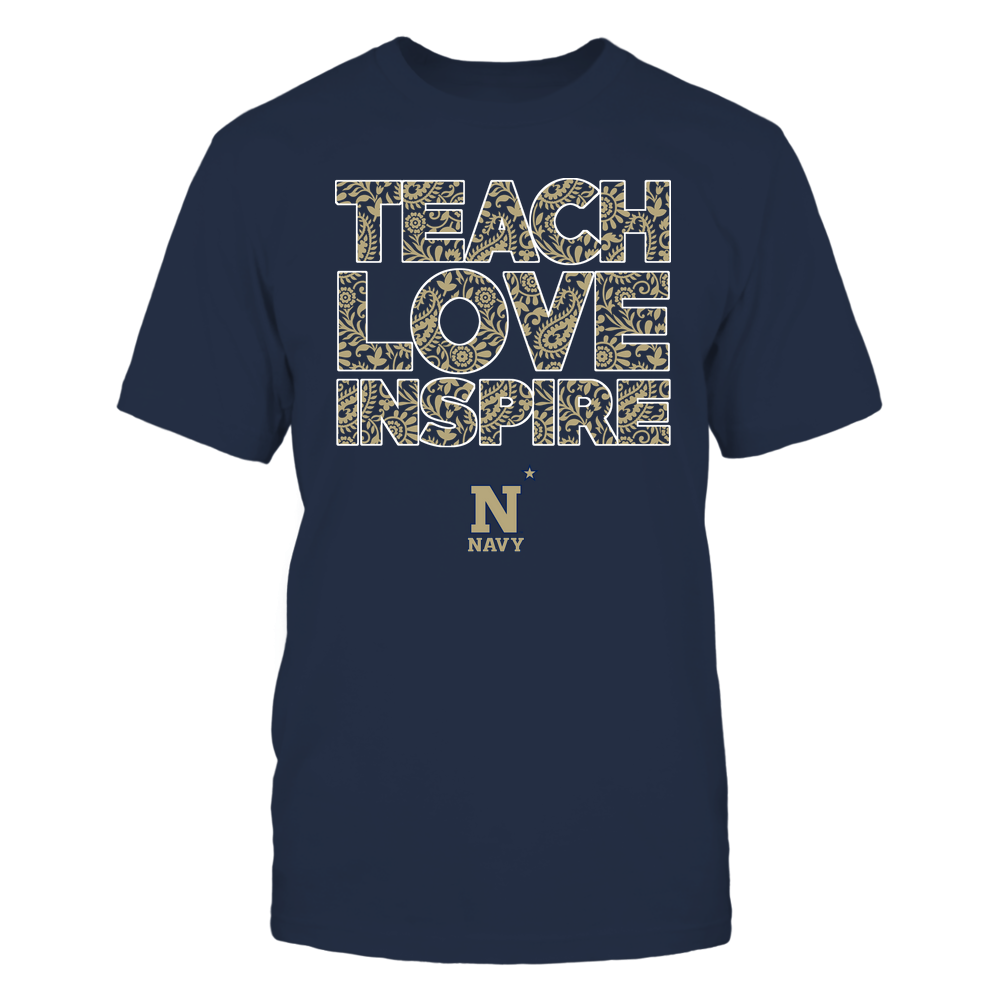 Navy Midshipmen - Teach Love Inspire Front picture