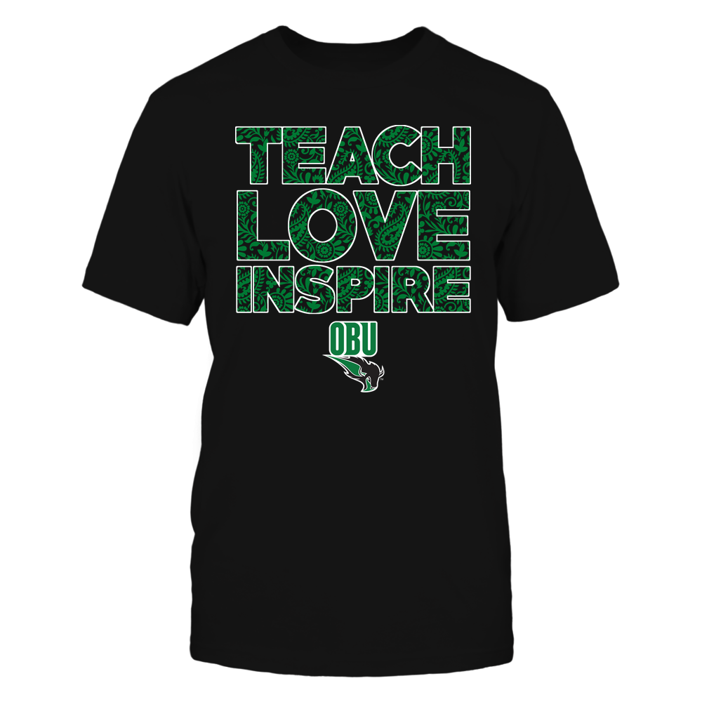 Oklahoma Baptist Bison - Teach Love Inspire Front picture