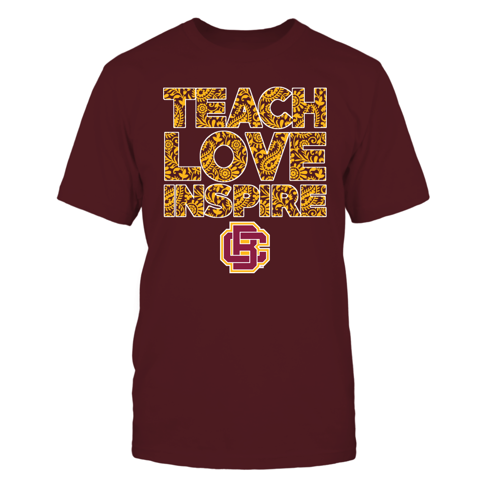 Bethune-Cookman Wildcats - Teach Love Inspire Front picture