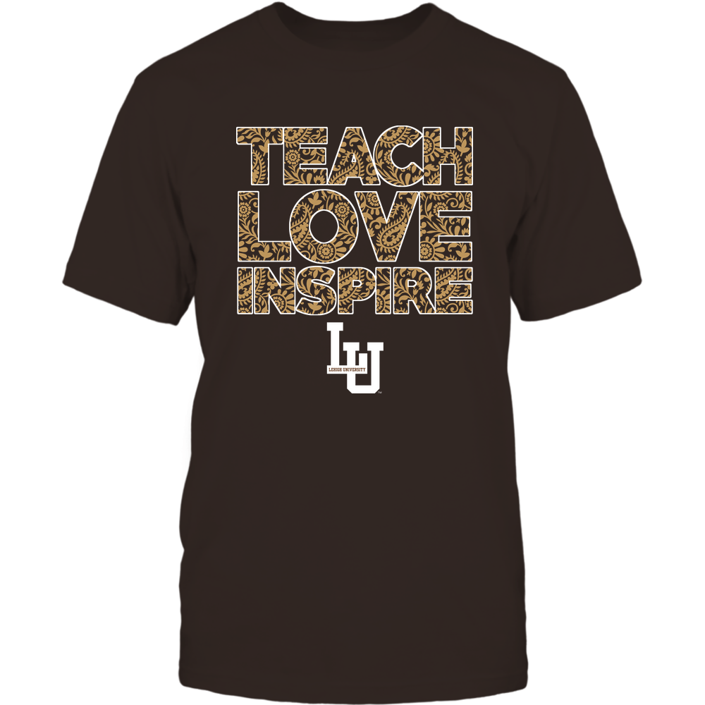 Lehigh Mountain Hawks - Teach Love Inspire Front picture