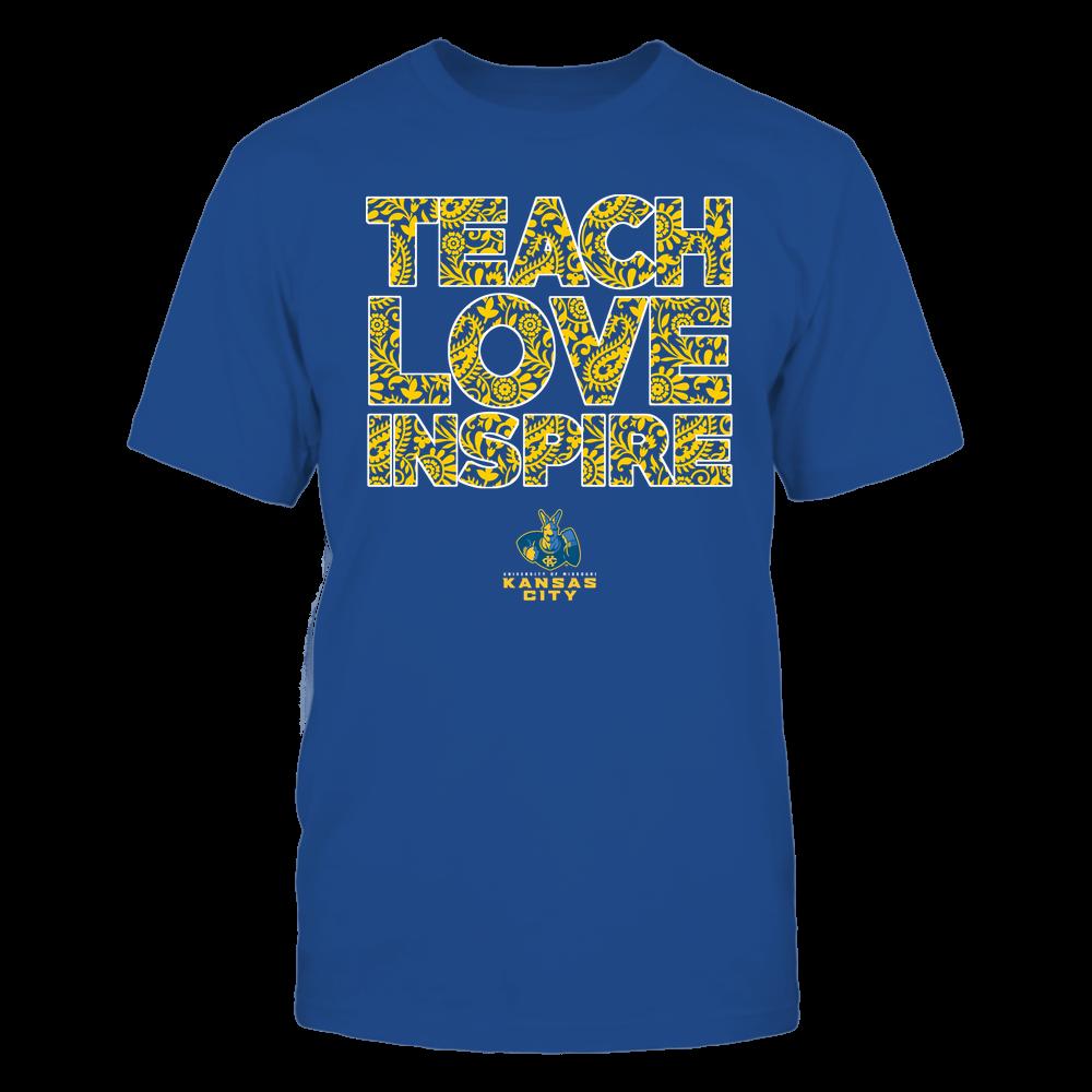 UMKC Kangaroos - Teach Love Inspire Front picture