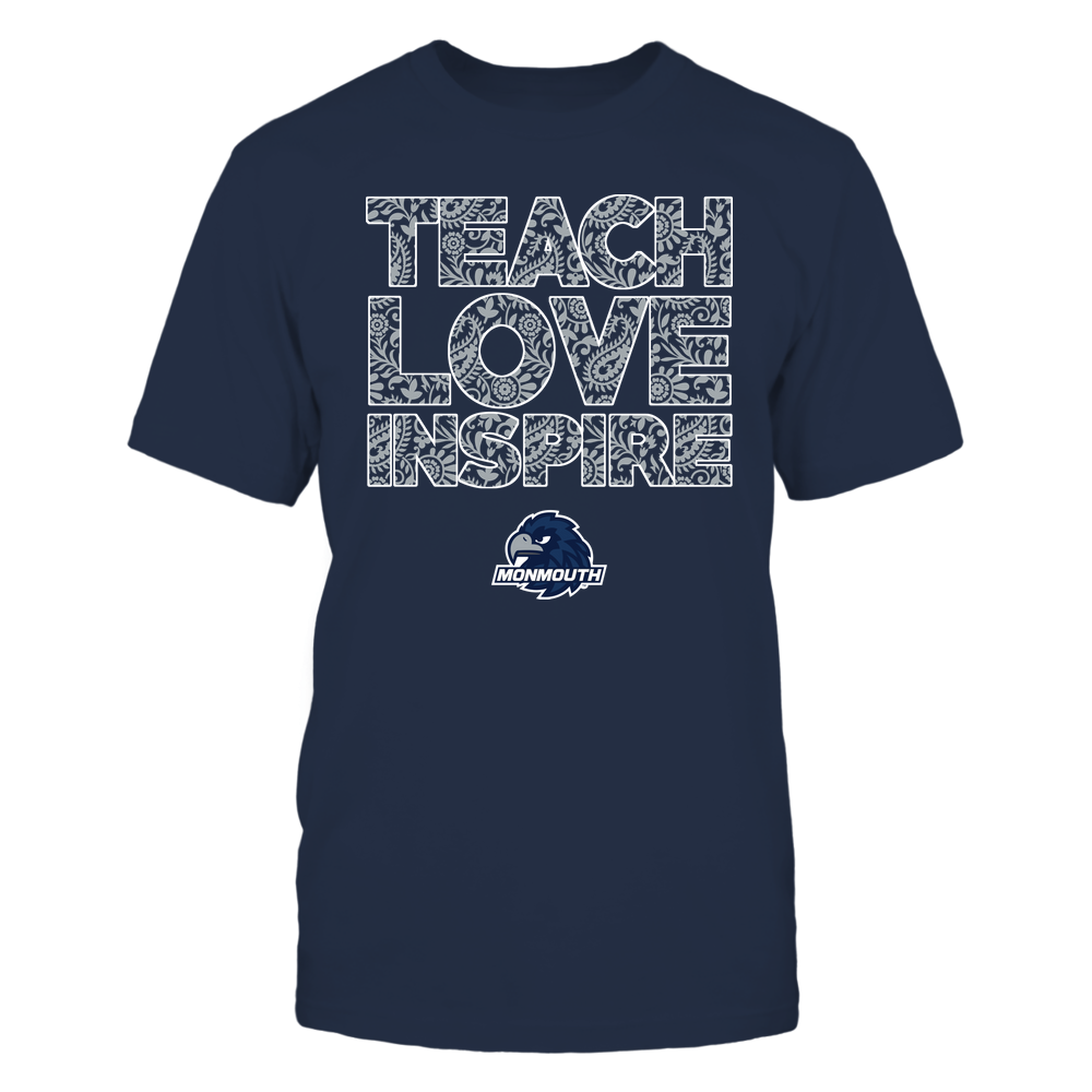 Monmouth Hawks - Teach Love Inspire Front picture