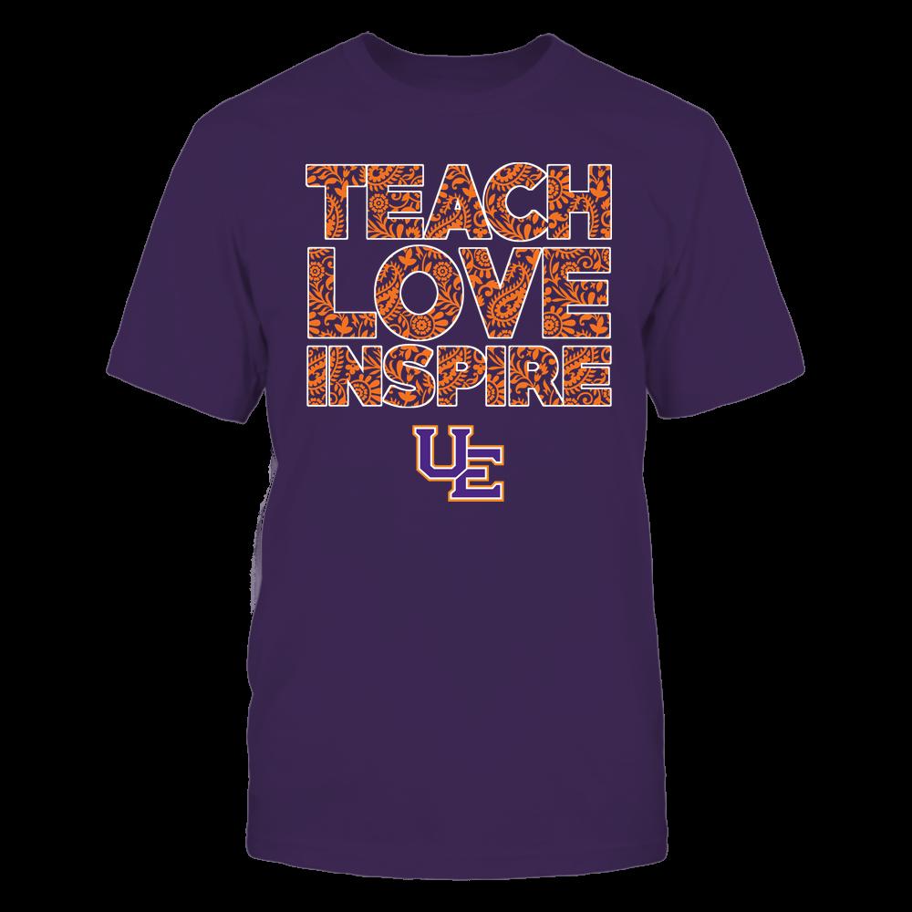 Evansville Purple Aces - Teach Love Inspire Front picture