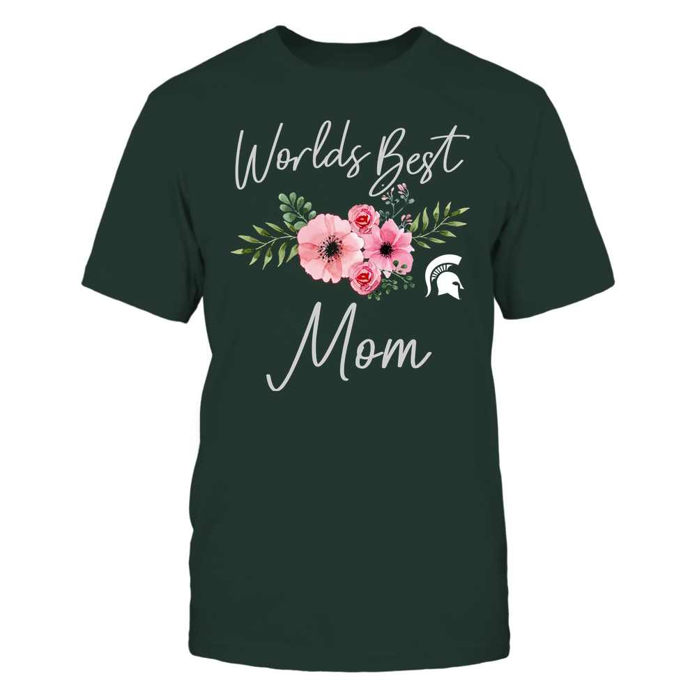 Michigan State Spartans - Worlds Best Mom Front picture