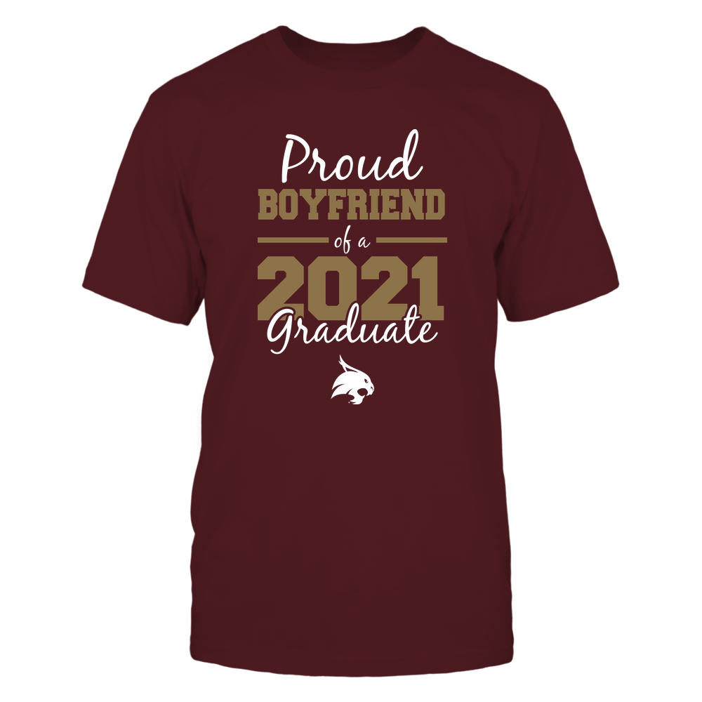 Texas State Bobcats - Proud Boyfriend 2021 Front picture