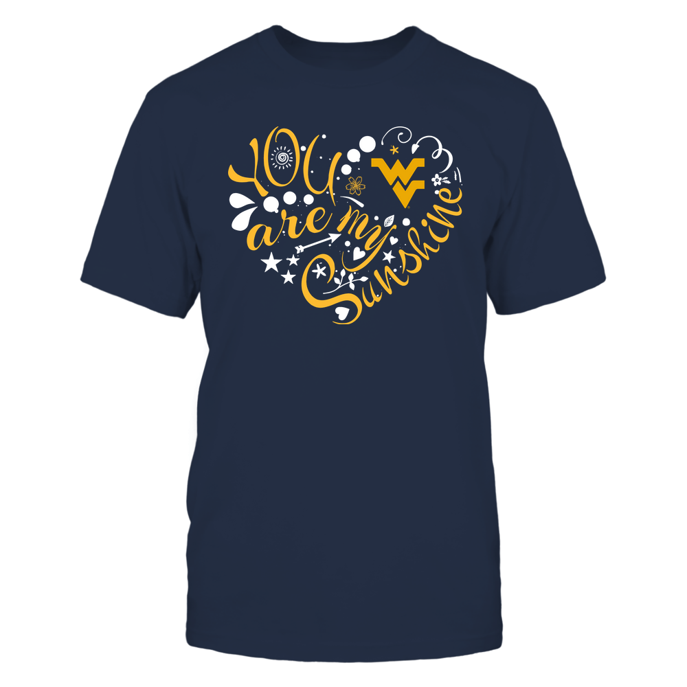 West Virginia Mountaineers - You Are My Sunshine Front picture