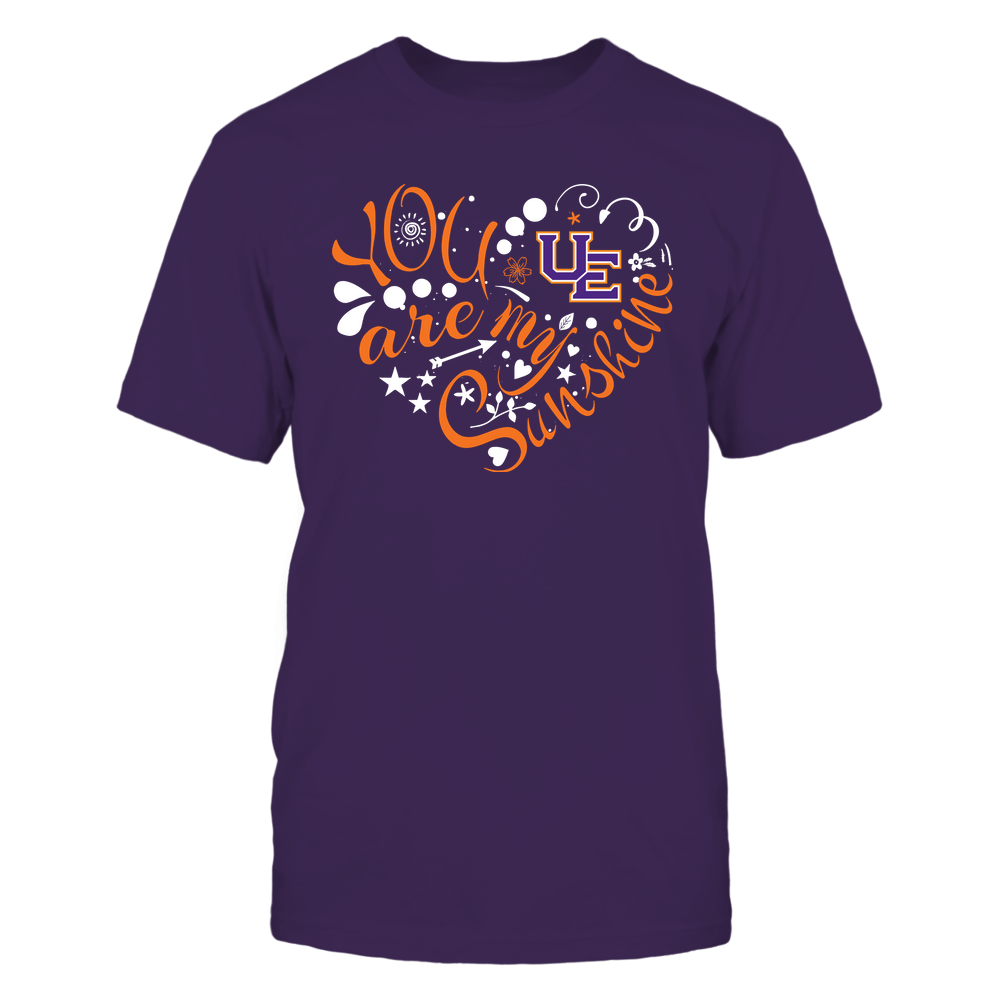 Evansville Purple Aces - You Are My Sunshine Front picture