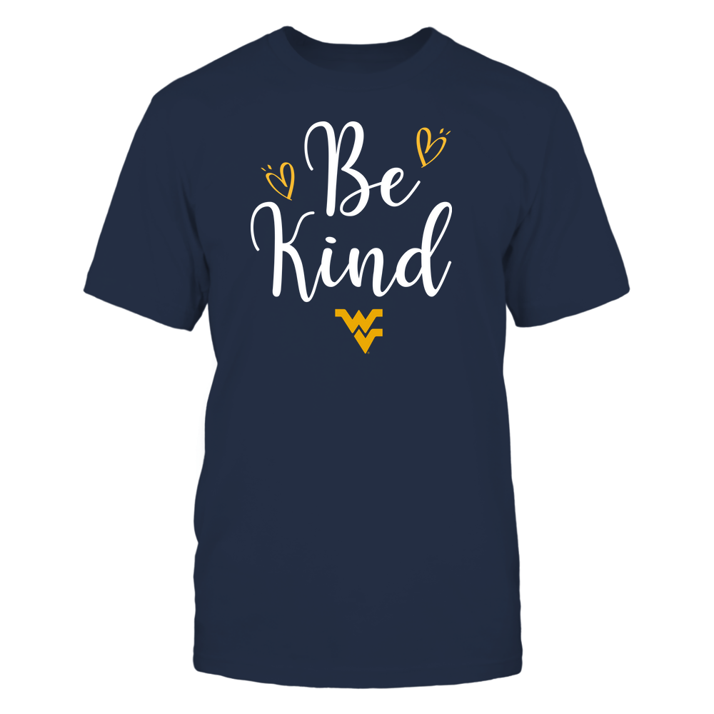 West Virginia Mountaineers - Be Kind Front picture