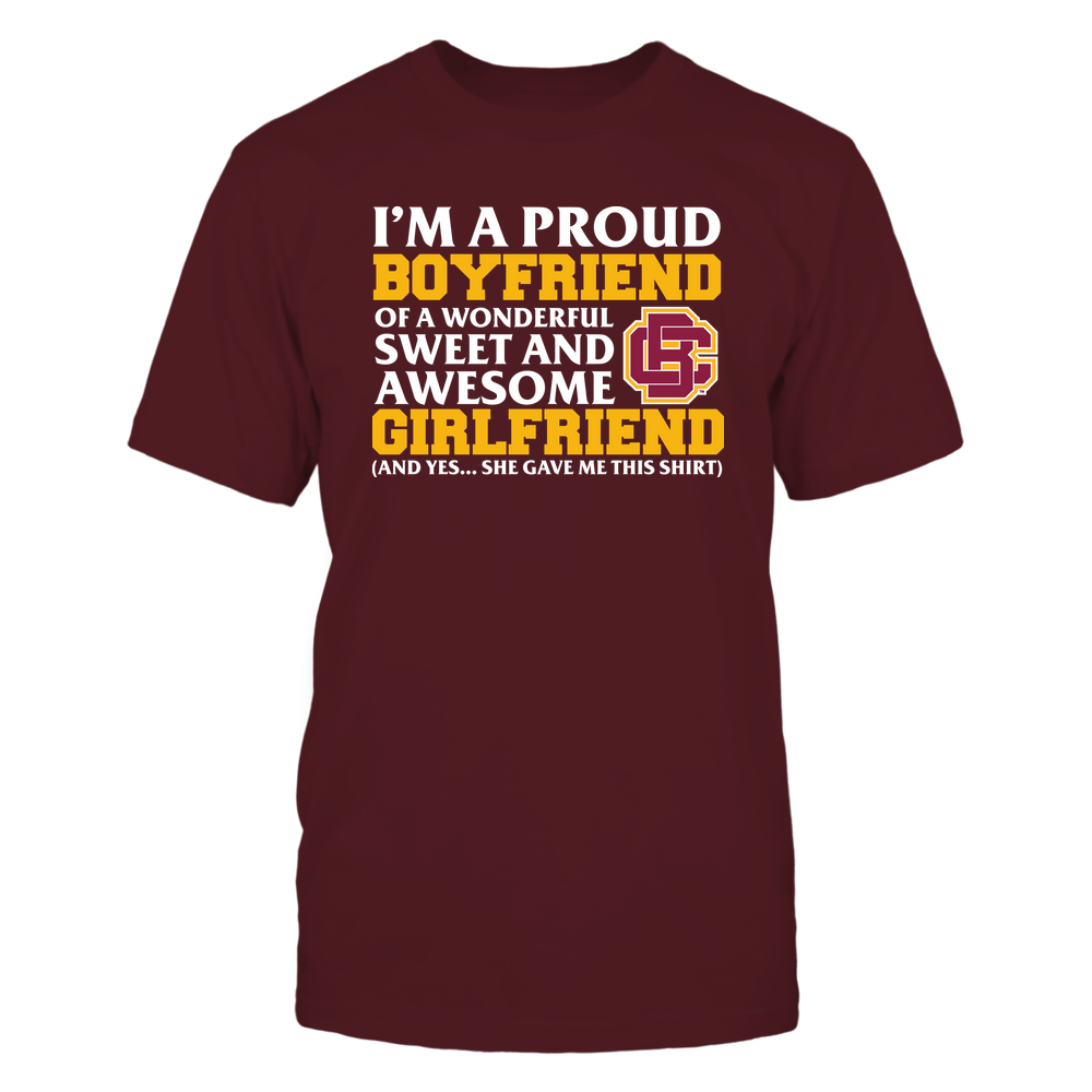 Bethune-Cookman Wildcats - Boyfriend - Girlfriend Gave Me This Shirt Front picture