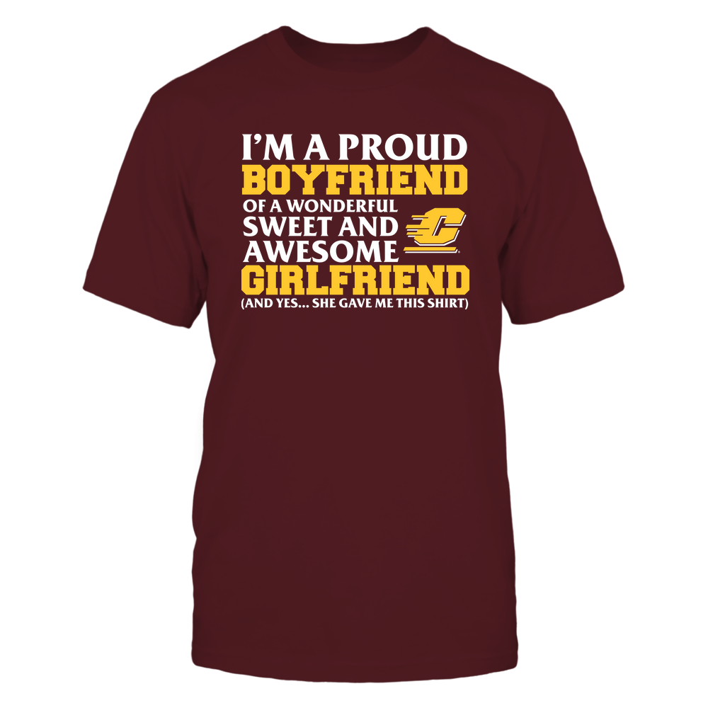 Central Michigan Chippewas - Boyfriend - Girlfriend Gave Me This Shirt Front picture