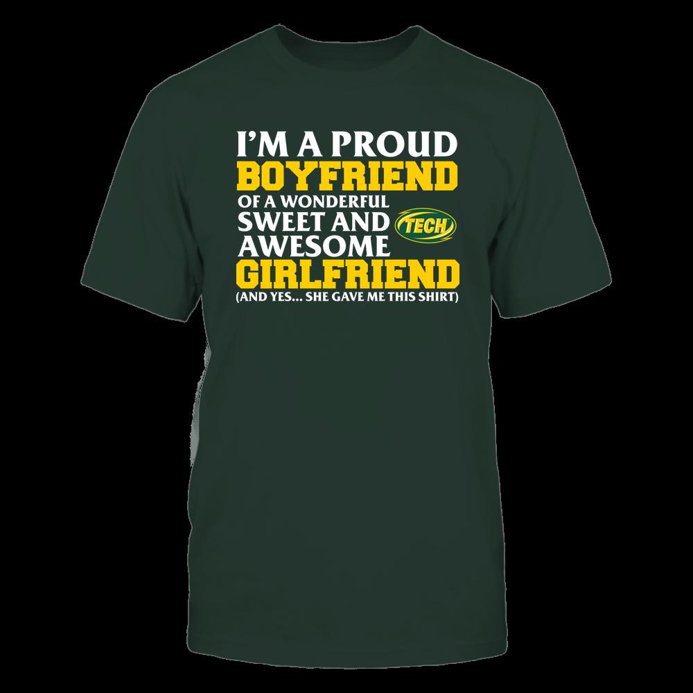Arkansas Tech Golden Suns - Boyfriend - Girlfriend Gave Me This Shirt Front picture