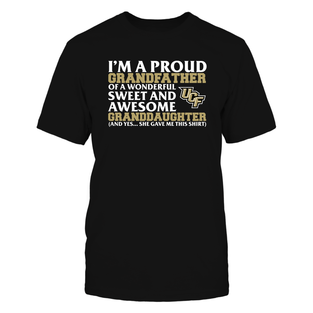 UCF Knights - Grandfather - Granddaughter Gave Me This Shirt Front picture