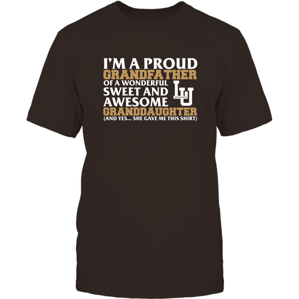 Lehigh Mountain Hawks - Grandfather - Granddaughter Gave Me This Shirt Front picture