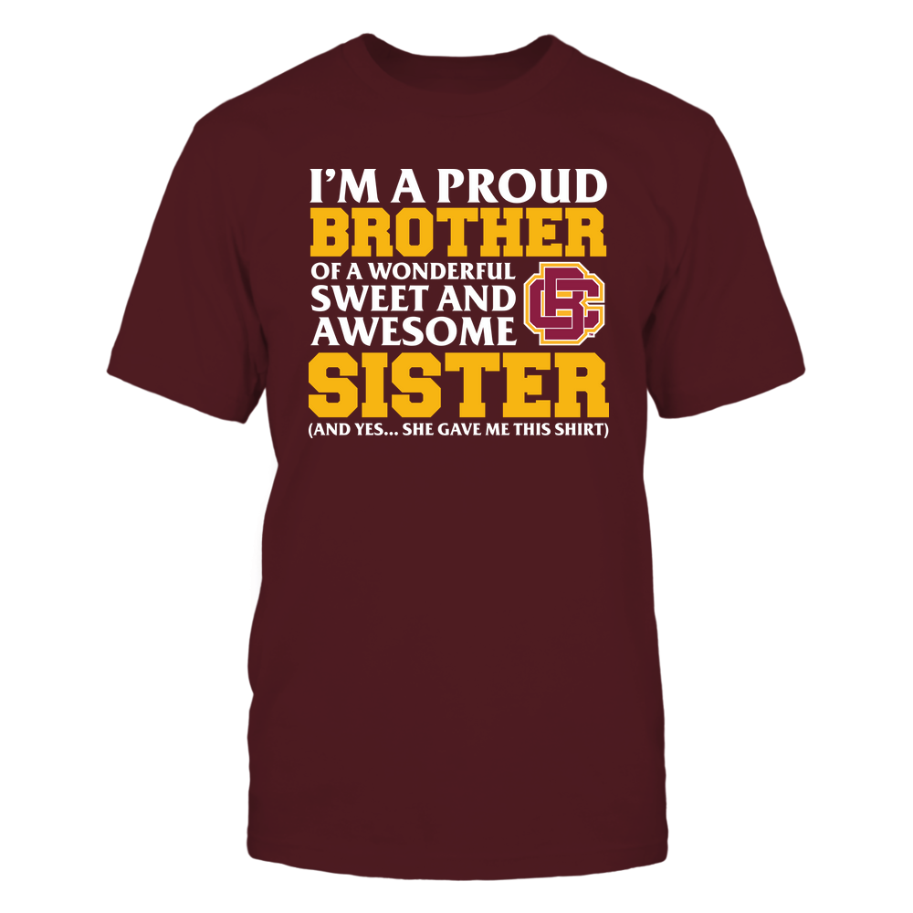 Bethune-Cookman Wildcats - Brother - Sister Gave Me This Shirt Front picture