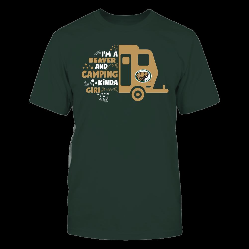 Bemidji State Beavers - Half Camping Car - Kinda Girl Front picture