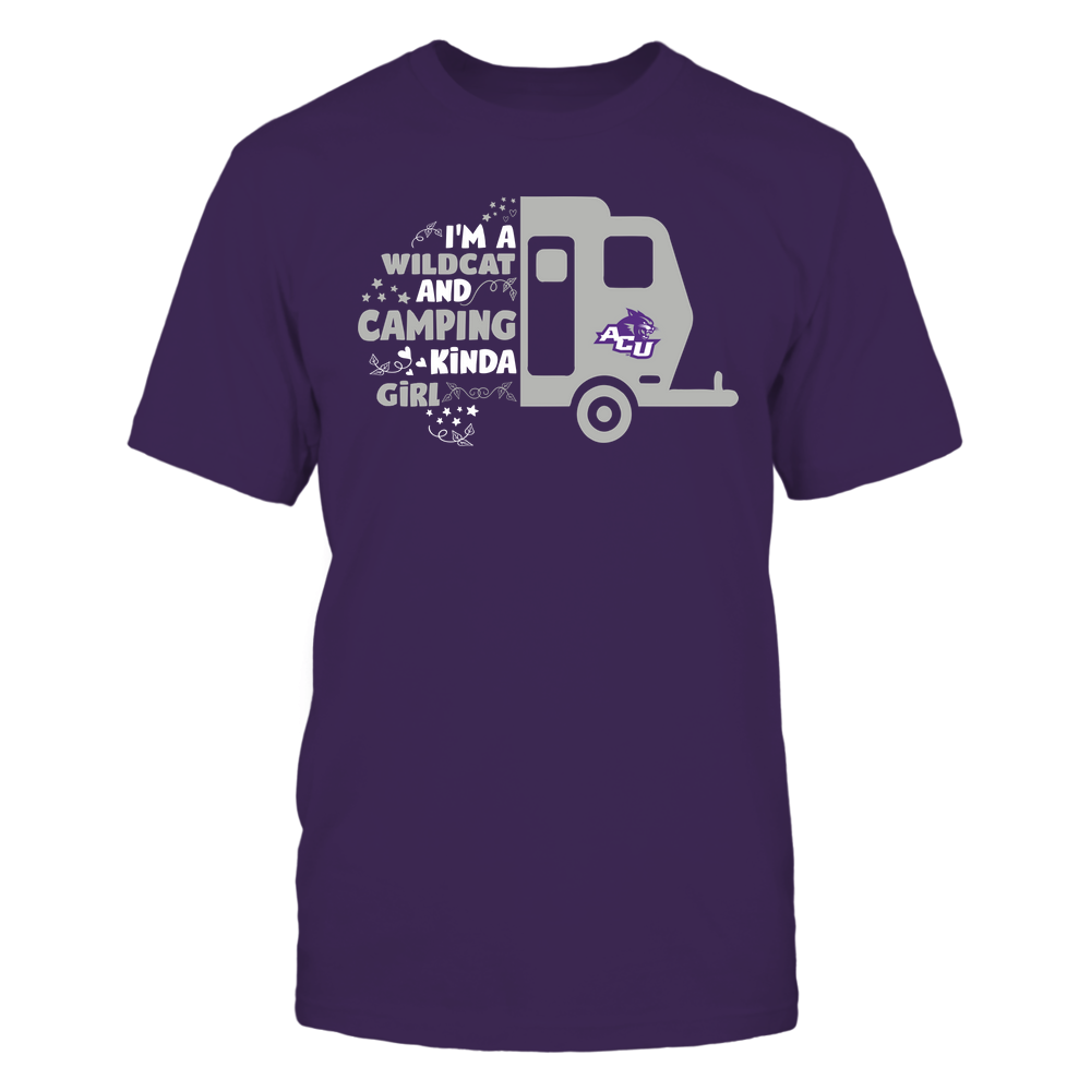 Abilene Christian Wildcats - Half Camping Car - Kinda Girl Front picture