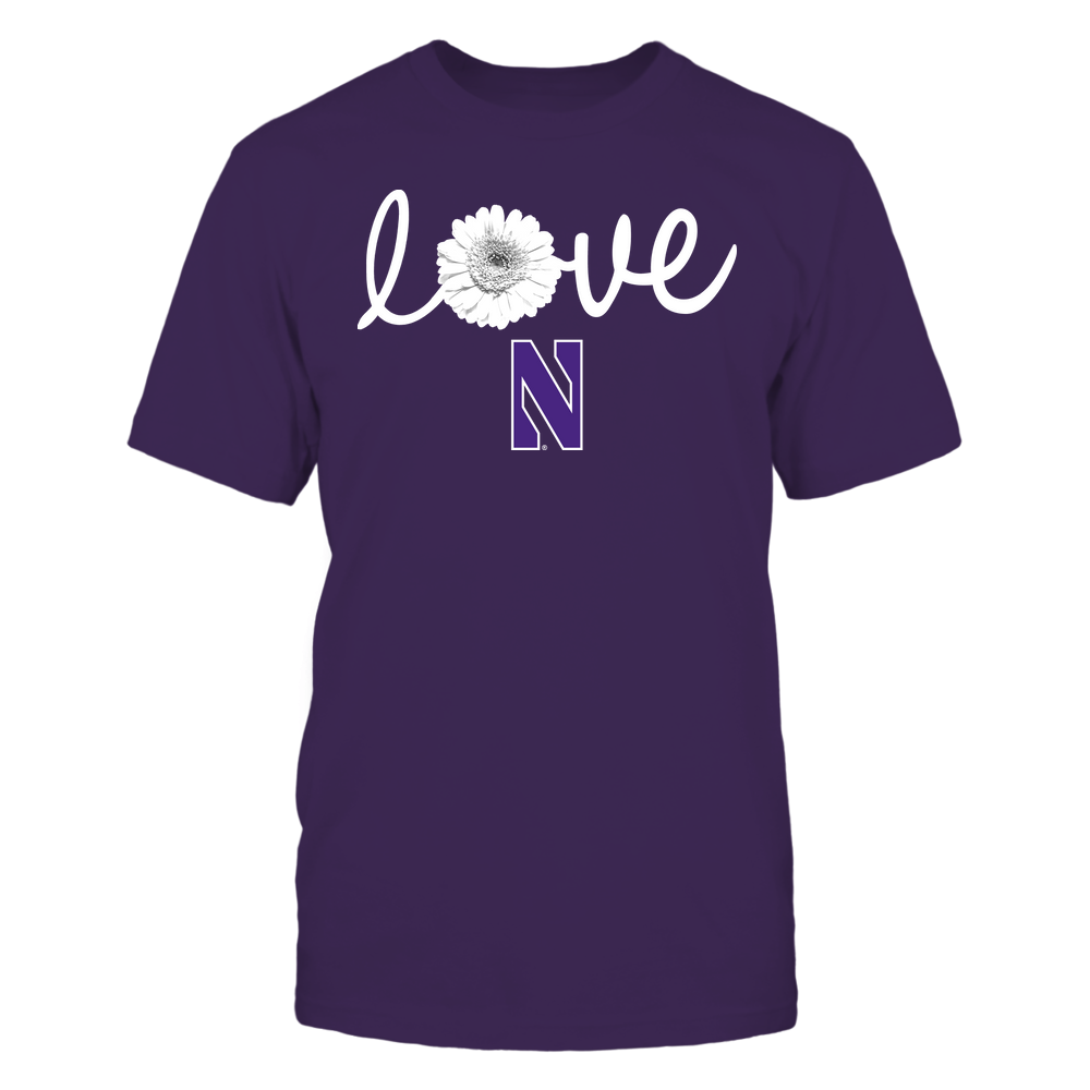 Northwestern Wildcats - Love Daisy Front picture