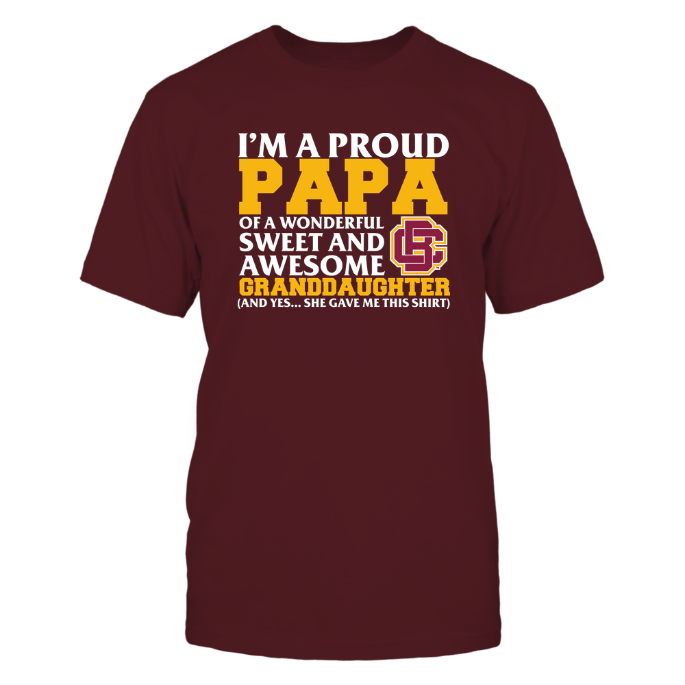 Bethune-Cookman Wildcats - Papa - Granddaughter Gave Me This Shirt Front picture