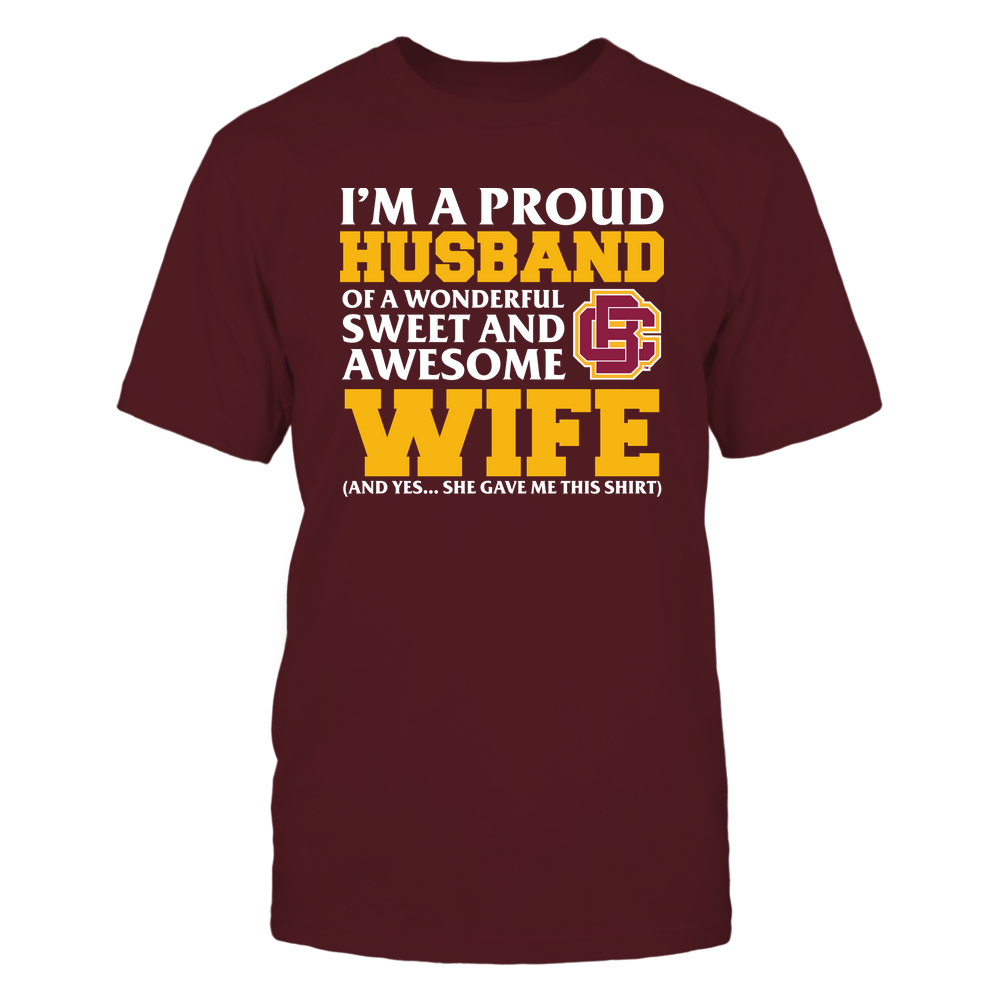Bethune-Cookman Wildcats - Husband - Wife Gave Me This Shirt Front picture