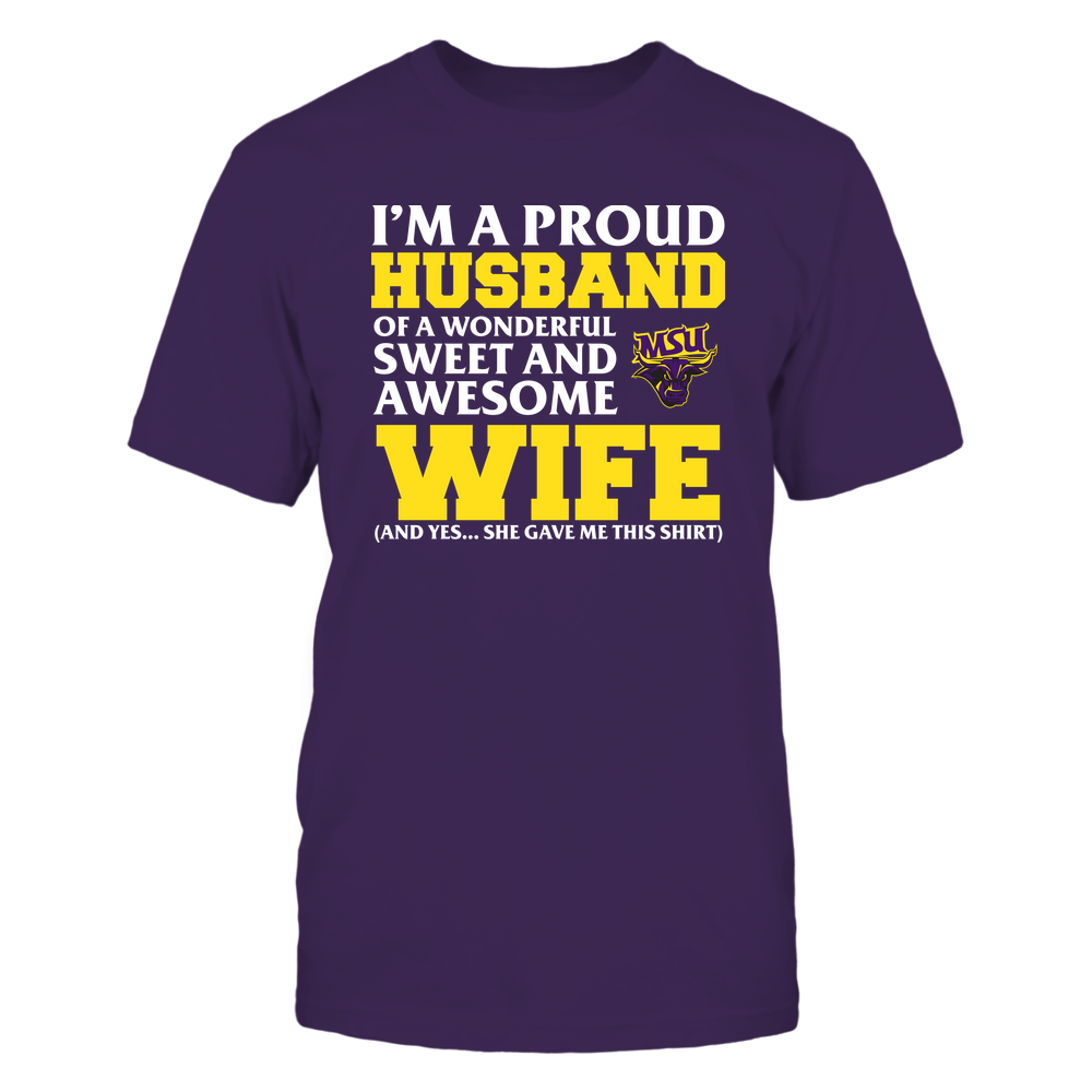 Minnesota State Mavericks - Husband - Wife Gave Me This Shirt Front picture