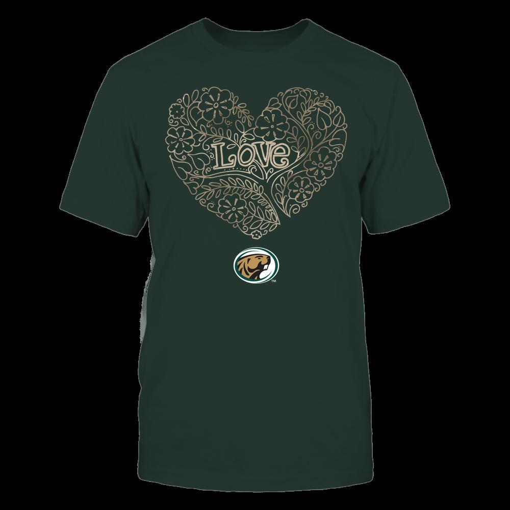 Bemidji State Beavers - Love - Tree Heart Galaxy Front picture