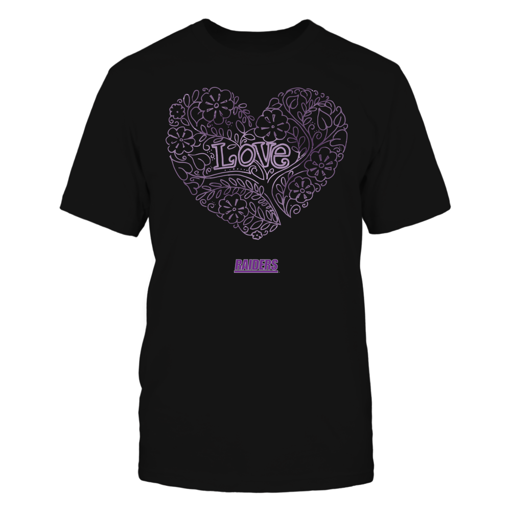 Mount Union Raiders - Love - Tree Heart Galaxy Front picture