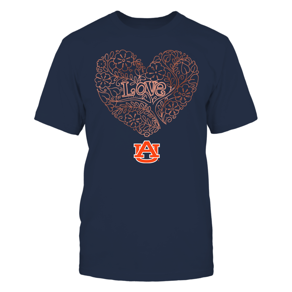 Auburn Tigers - Love - Tree Heart Galaxy Front picture