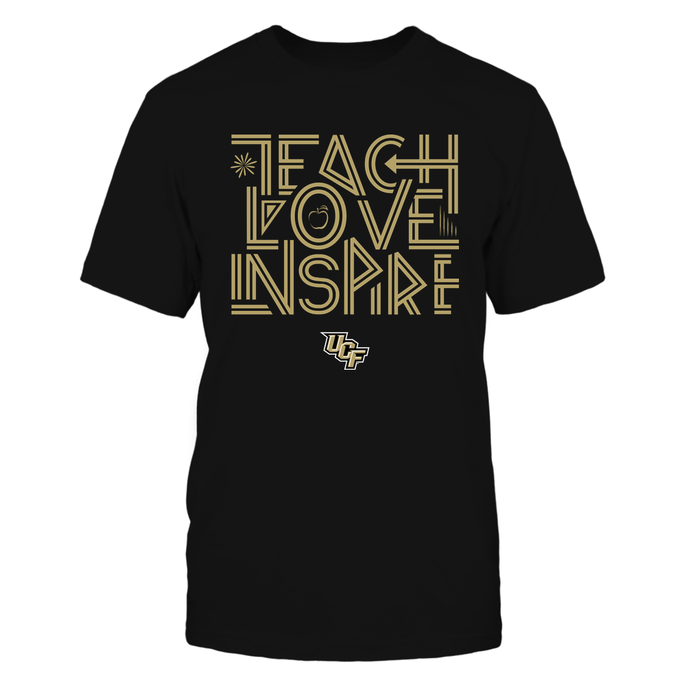 UCF Knights - Teach Love Inspire - Graphic Design Front picture