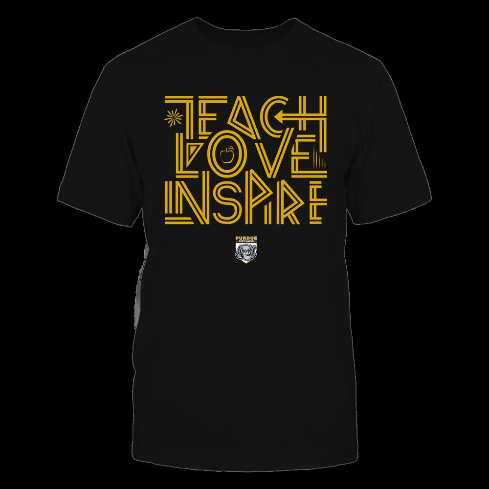 PFW Mastodons - Teach Love Inspire - Graphic Design Front picture