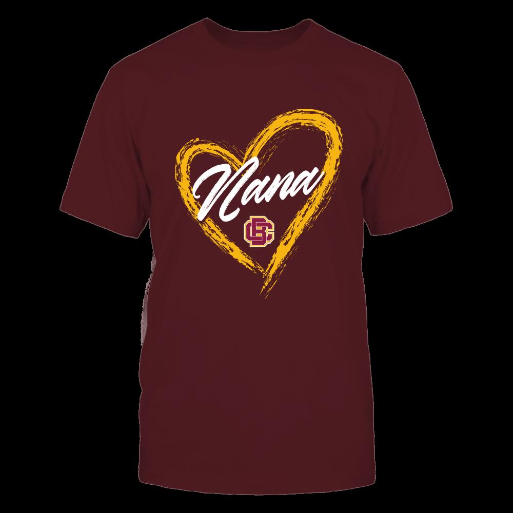 Bethune-Cookman Wildcats - Heart Shape - Nana - University Logo Front picture