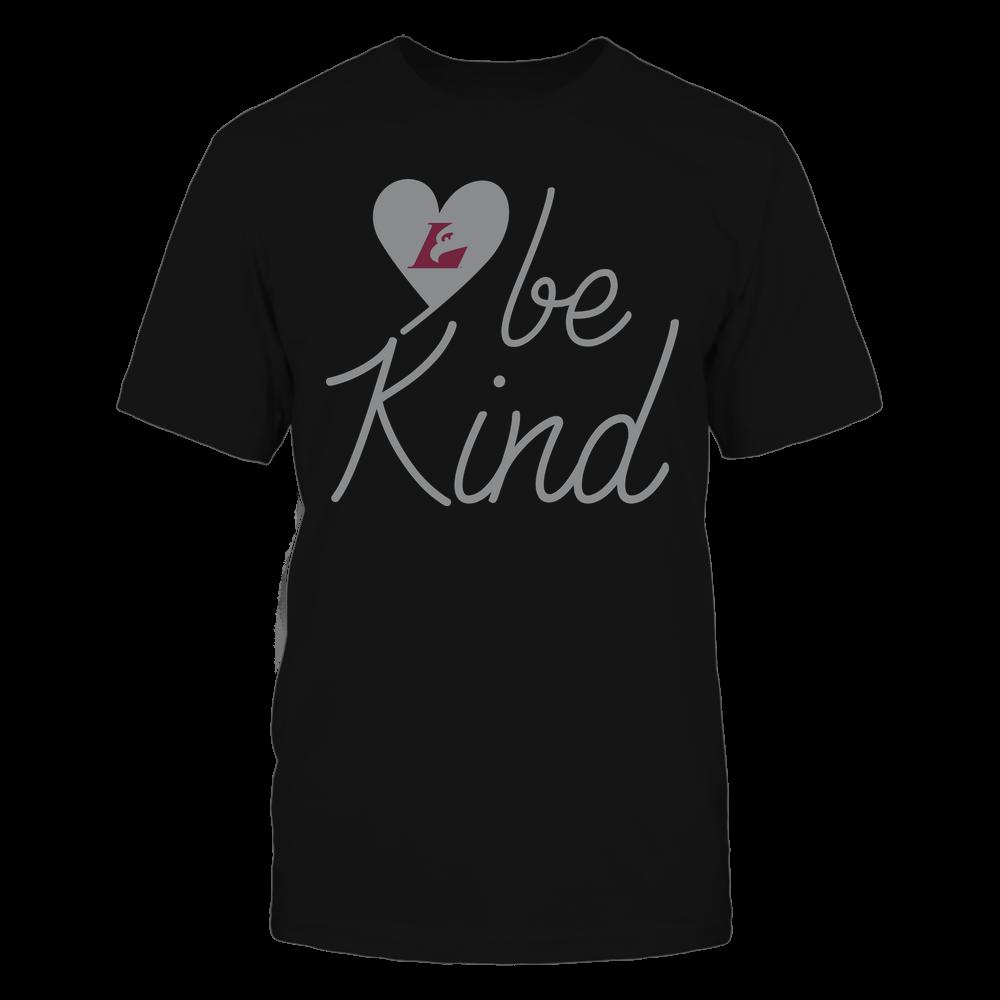 Wisconsin-La Crosse Eagles - Be Kind - University Logo Heart Shape Front picture