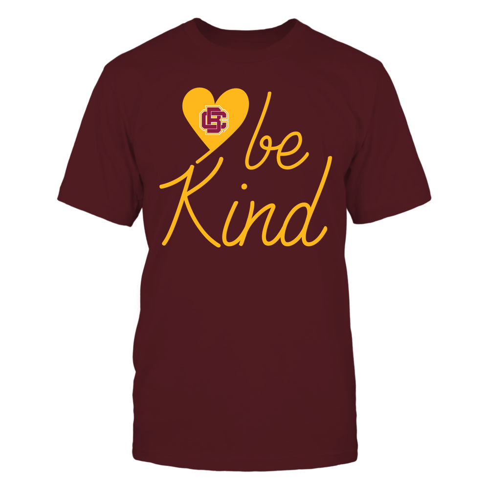 Bethune-Cookman Wildcats - Be Kind - University Logo Heart Shape Front picture