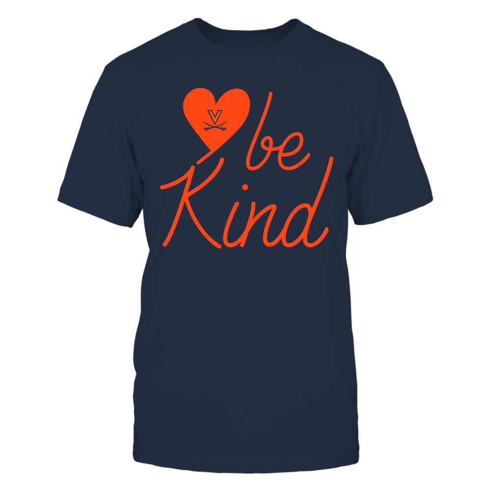 Virginia Cavaliers - Be Kind - University Logo Heart Shape Front picture