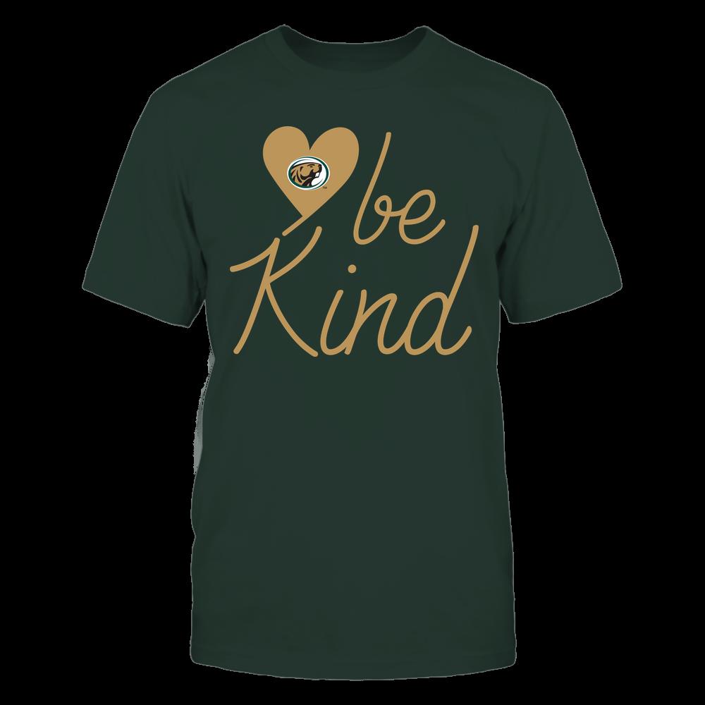 Bemidji State Beavers - Be Kind - University Logo Heart Shape Front picture