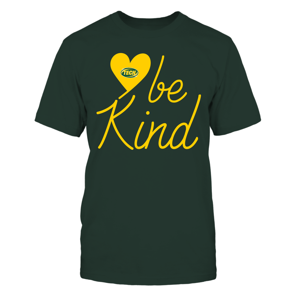 Arkansas Tech Golden Suns - Be Kind - University Logo Heart Shape Front picture