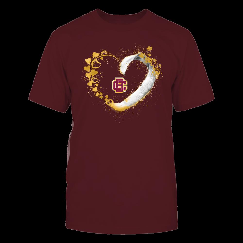 Bethune-Cookman Wildcats - Beautiful Heart - Color Drop - University Logo Front picture