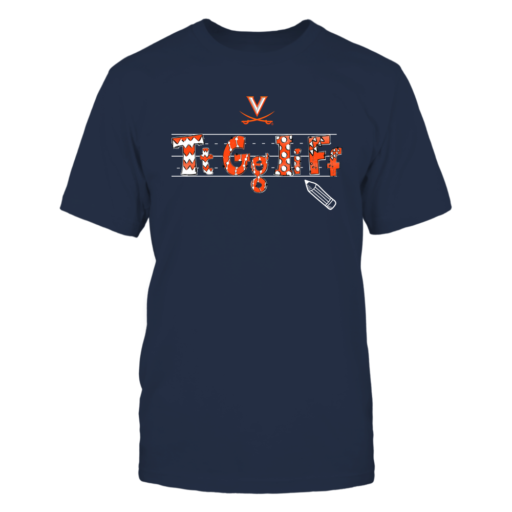 Virginia Cavaliers - TGIF - Hand Drawn Front picture