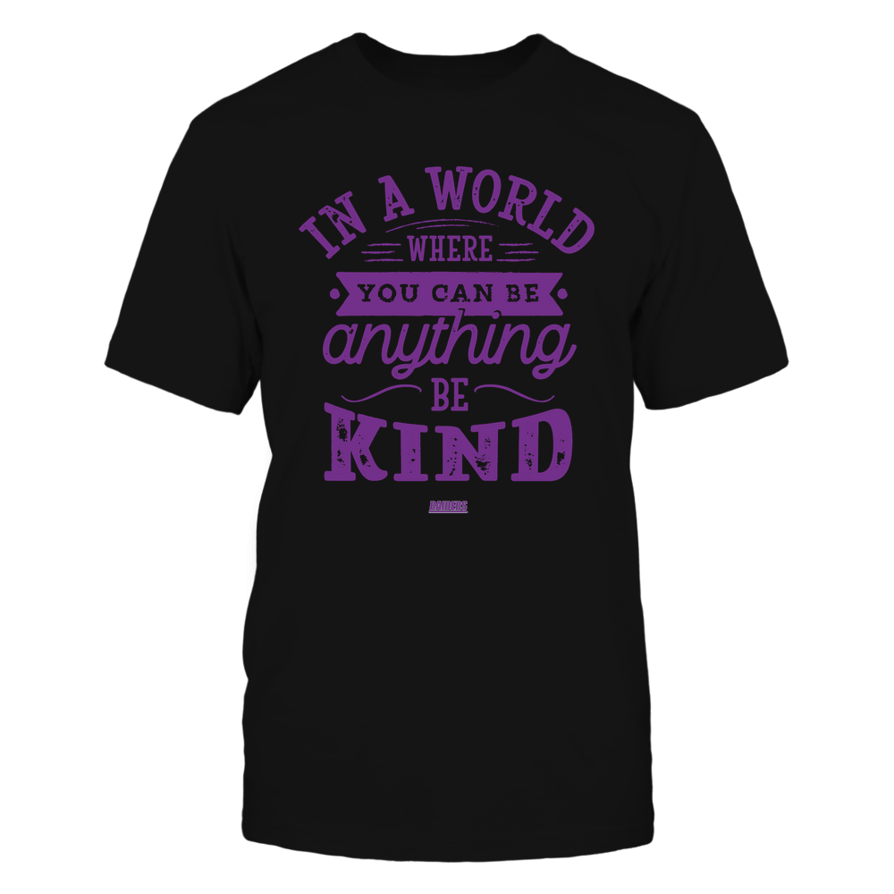 Mount Union Raiders - You Can Be Anything - Be Kind Front picture