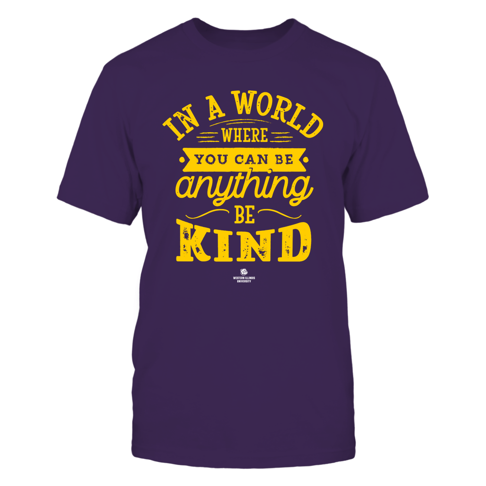 Western Illinois Leathernecks - You Can Be Anything - Be Kind Front picture