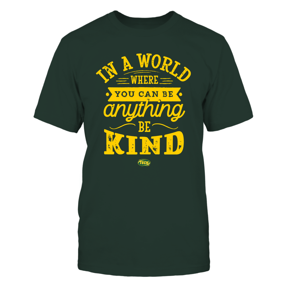 Arkansas Tech Golden Suns - You Can Be Anything - Be Kind Front picture