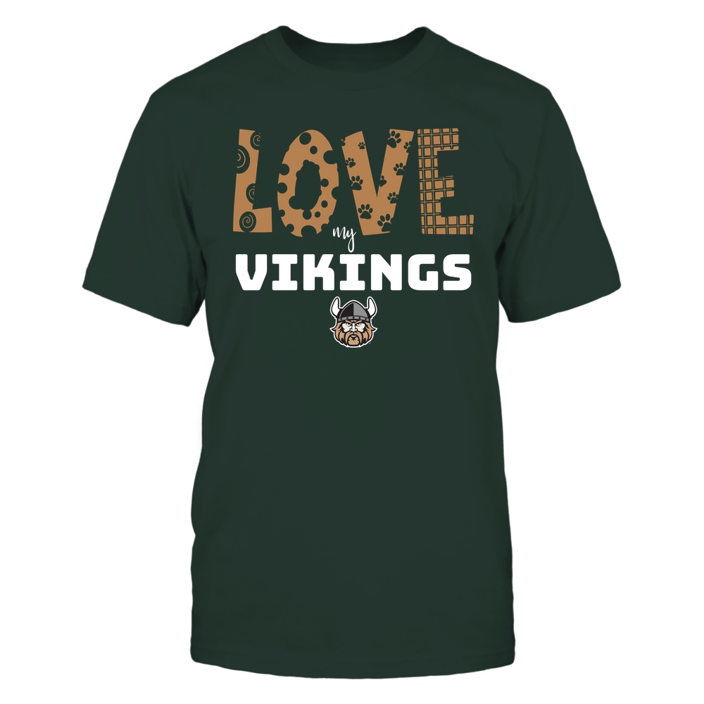 Cleveland State Vikings - Love My Team - Doodle Front picture