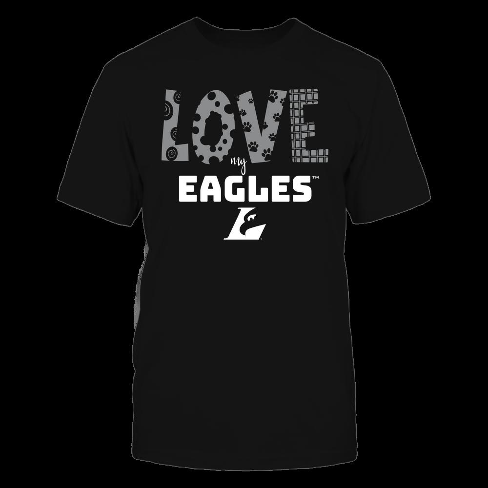 Wisconsin-La Crosse Eagles - Love My Team - Doodle Front picture