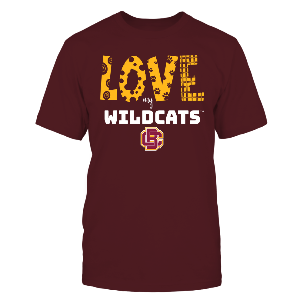 Bethune-Cookman Wildcats - Love My Team - Doodle Front picture